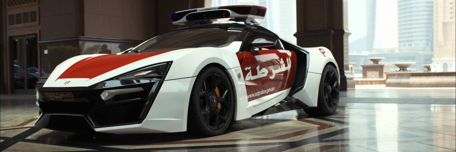 Abu Dhabi Police acquires a Lykan HyperSport (Watch in 4K) - Shiftndrive