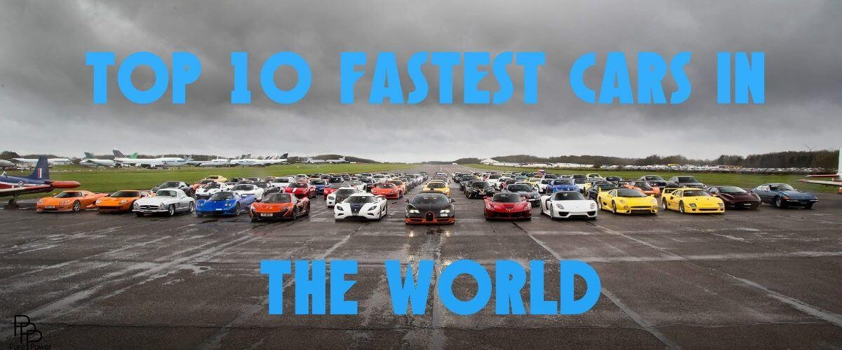 What Is The Fastest Car In The World >> Top 10 Fastest Cars In The World Shiftndrive